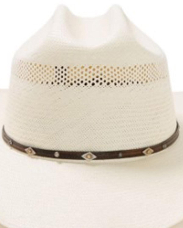 103efc466 Stetson Lobo 10X Straw Cowboy Hat