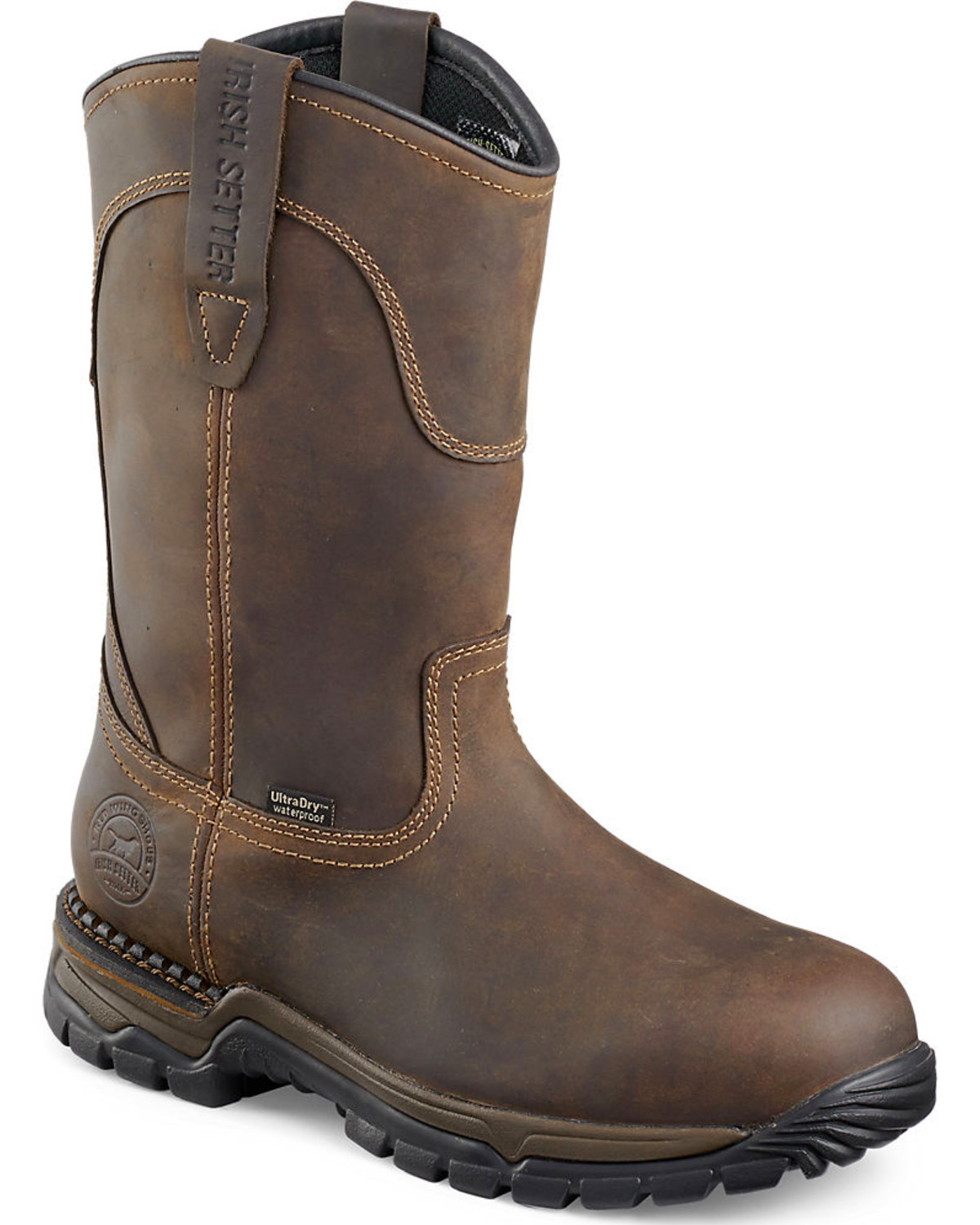 Red Wing Irish Setter Two Harbors Pull-On Work Boots ...
