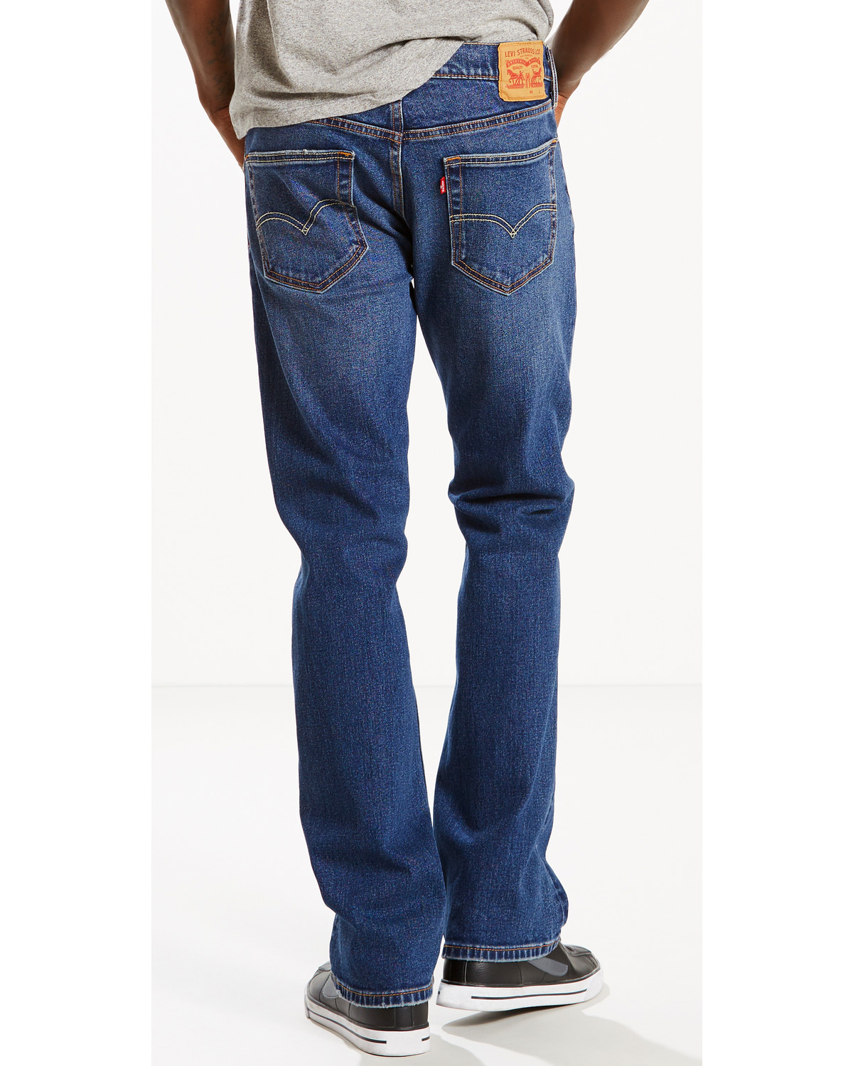 2469b4f6f7e Zoomed Image Levi's Men's 527 Slim Fit Jeans - Boot Cut , Indigo, ...