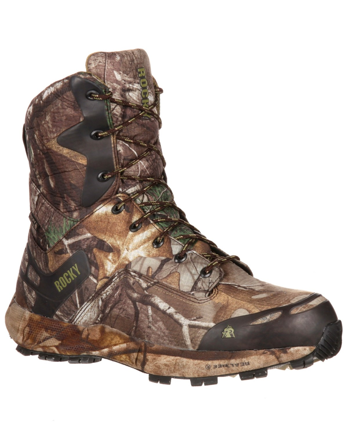 b87f6573a2a Rocky Men's Broadhead Waterproof Hunting Boots - Round Toe