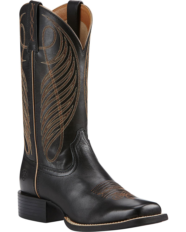 Black Ariat Boots