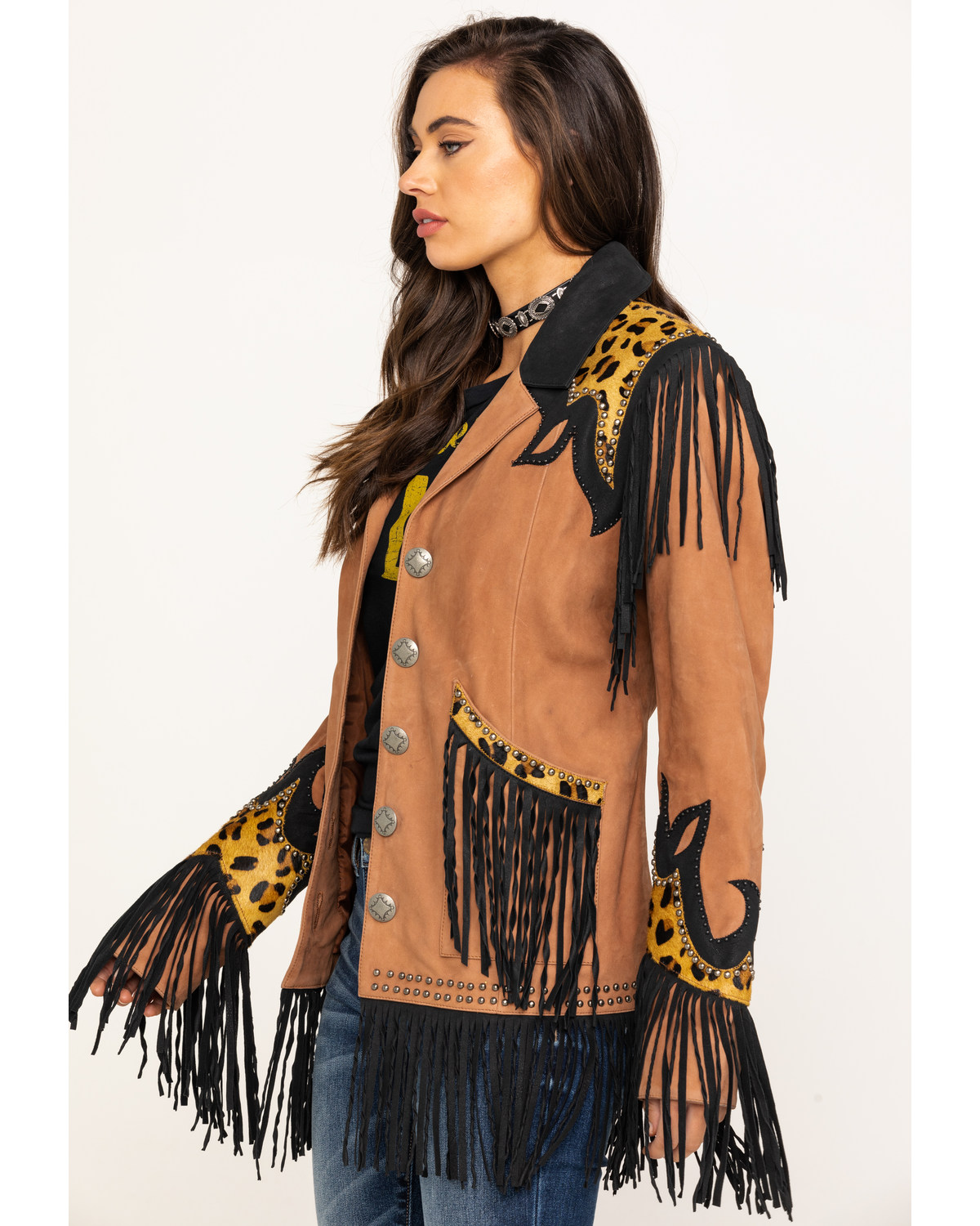 Double D Ranch Women's Saddle Texas Two Step Jacket