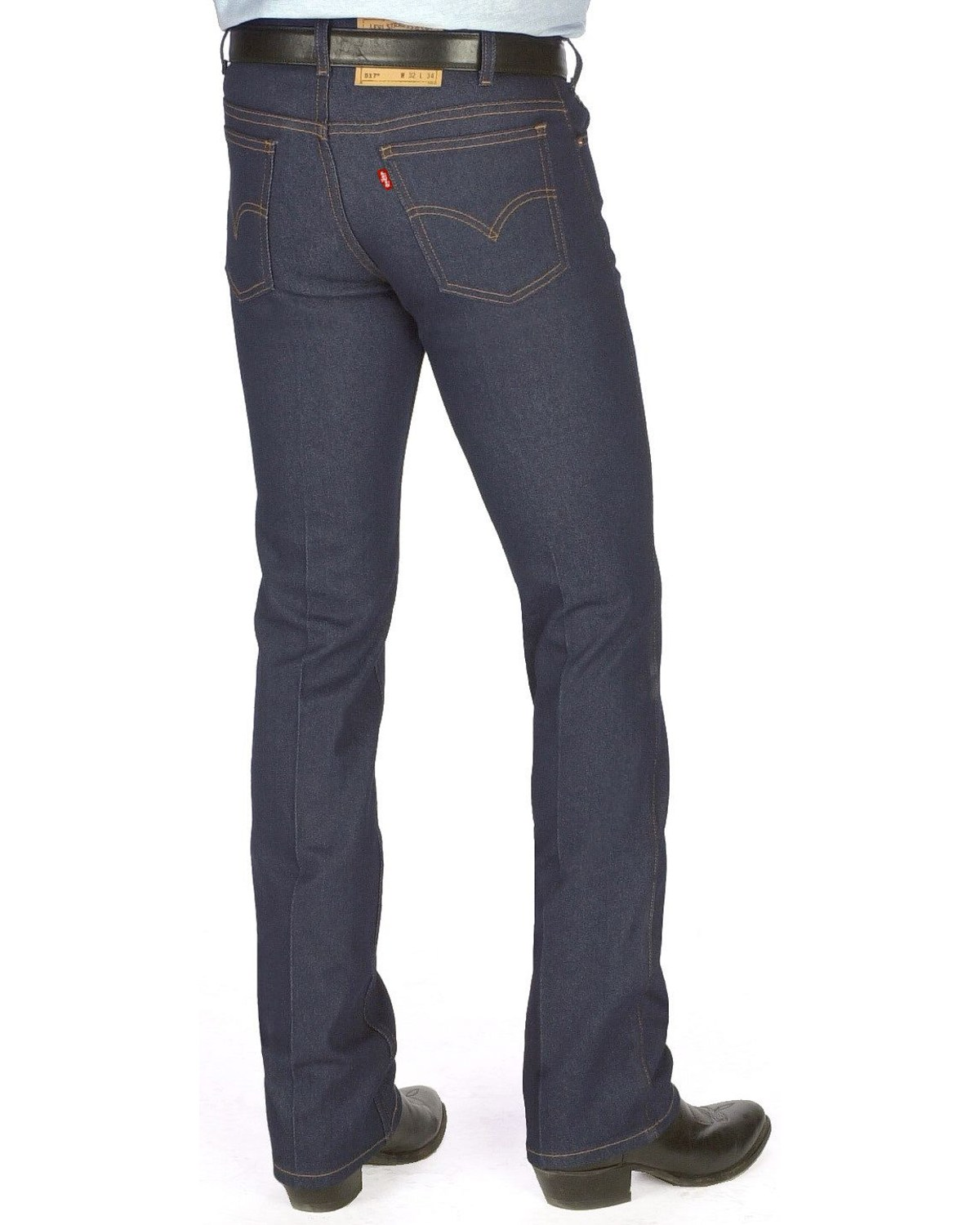 7dfa85254a5 Zoomed Image Levi's Men's 517® Boot Cut Jeans, Indigo, ...