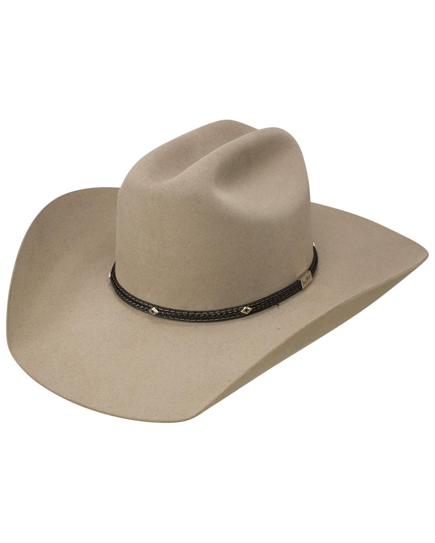 5f1314f7080cf George Strait by Resistol Men s Hollister 6x Felt Cowboy Hat