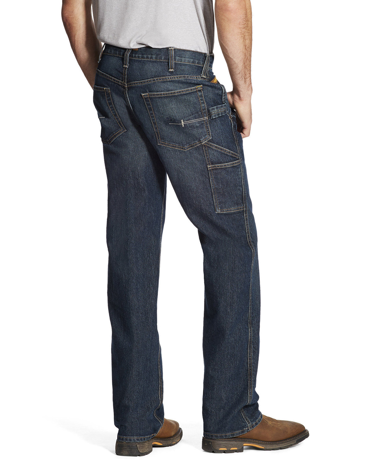 c9d2ad7b5657 Ariat Men s M4 Workhorse Relaxed Fit Carpenter Jeans