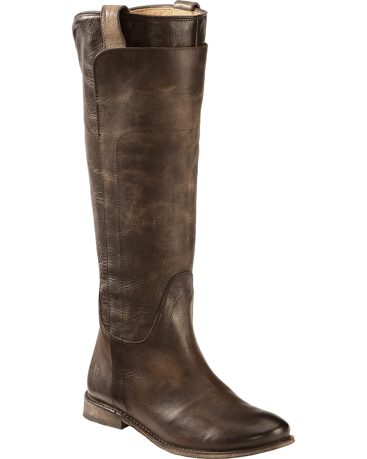 182d8d0d2 Zoomed Image Frye Women's Slate Paige Tall Riding Boot - Round Toe , Slate,  ...