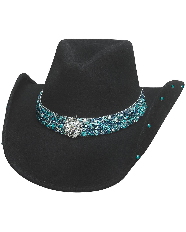 Bullhide Women s Dancin  Crazy Wool Felt Cowboy Hat  b1a58b08288