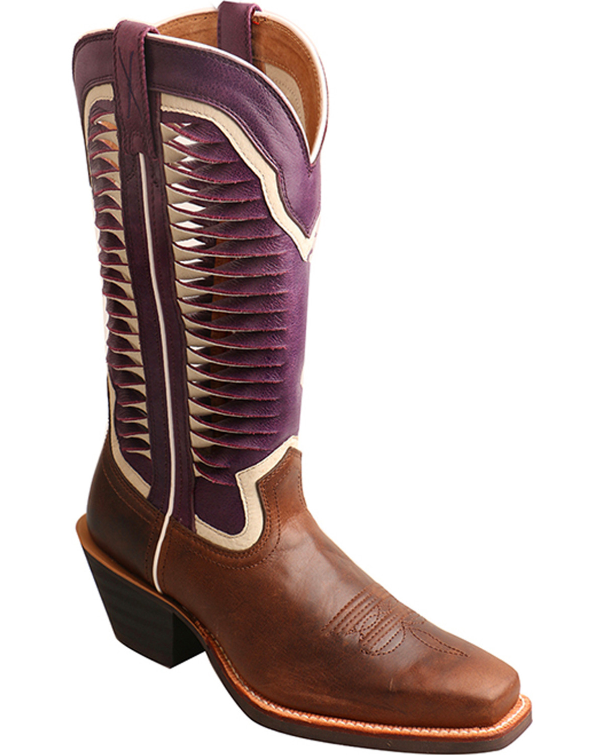 Twisted X Women S 12 Quot Ruff Stock Vented Shaft Cowgirl