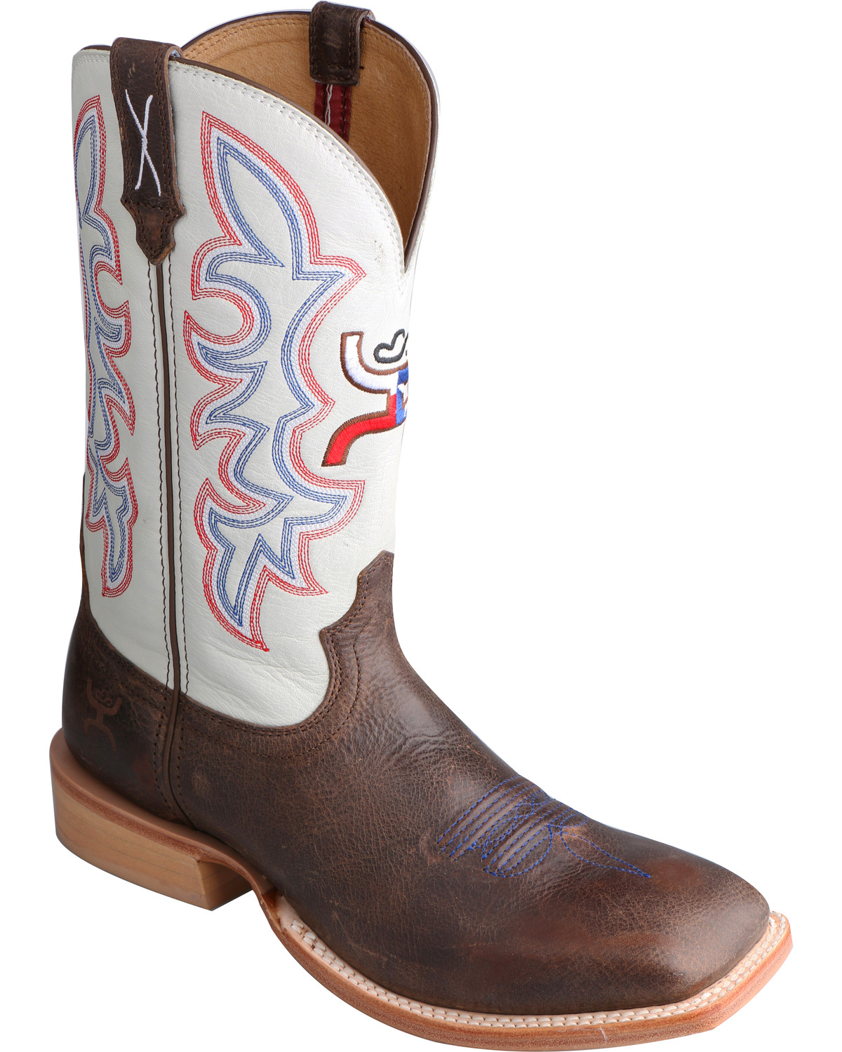 Twisted X White Hooey Cowboy Boots Square Toe Boot Barn