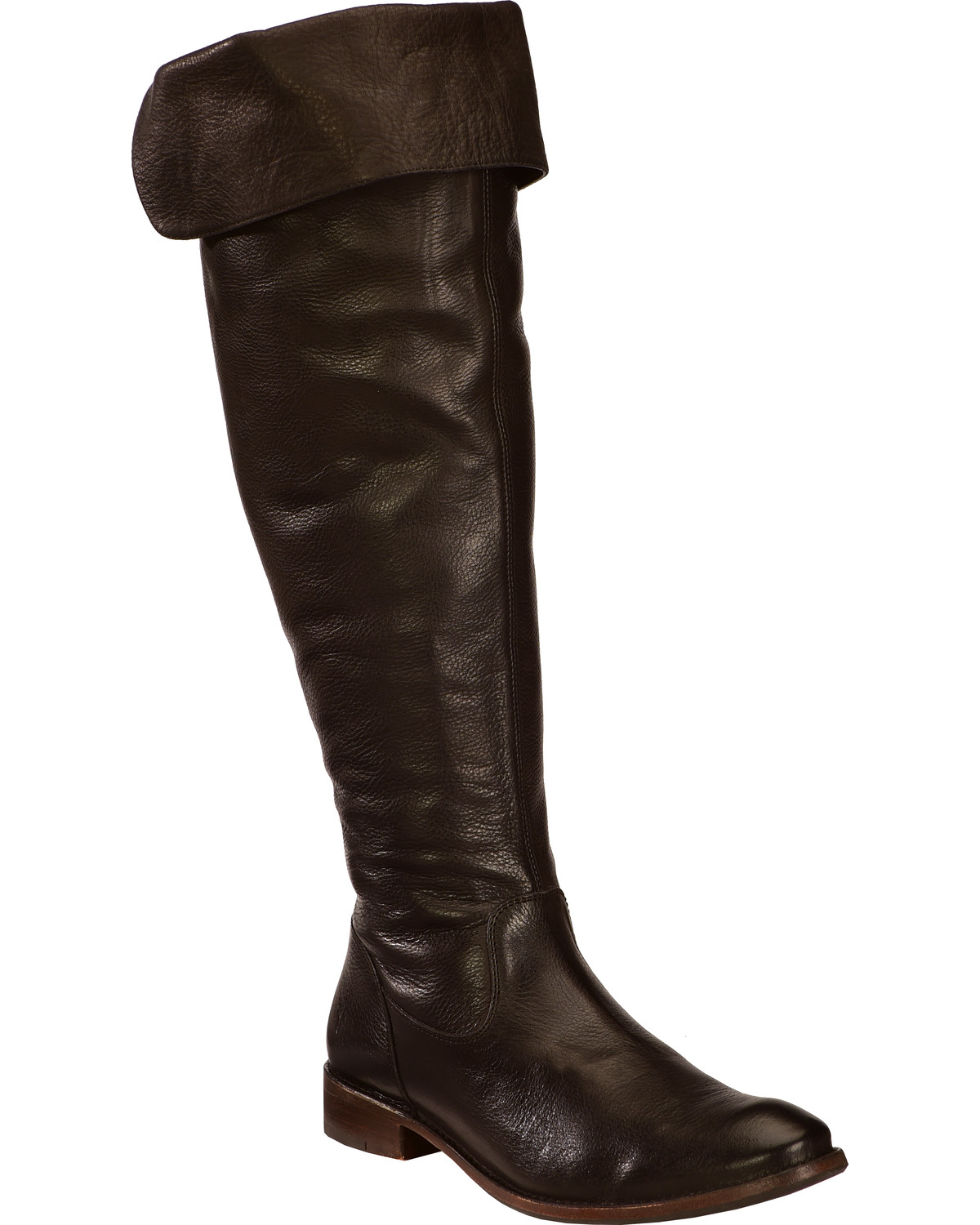 a886fe950ab Frye Women s Shirley Over The Knee Riding Boots - Round Toe