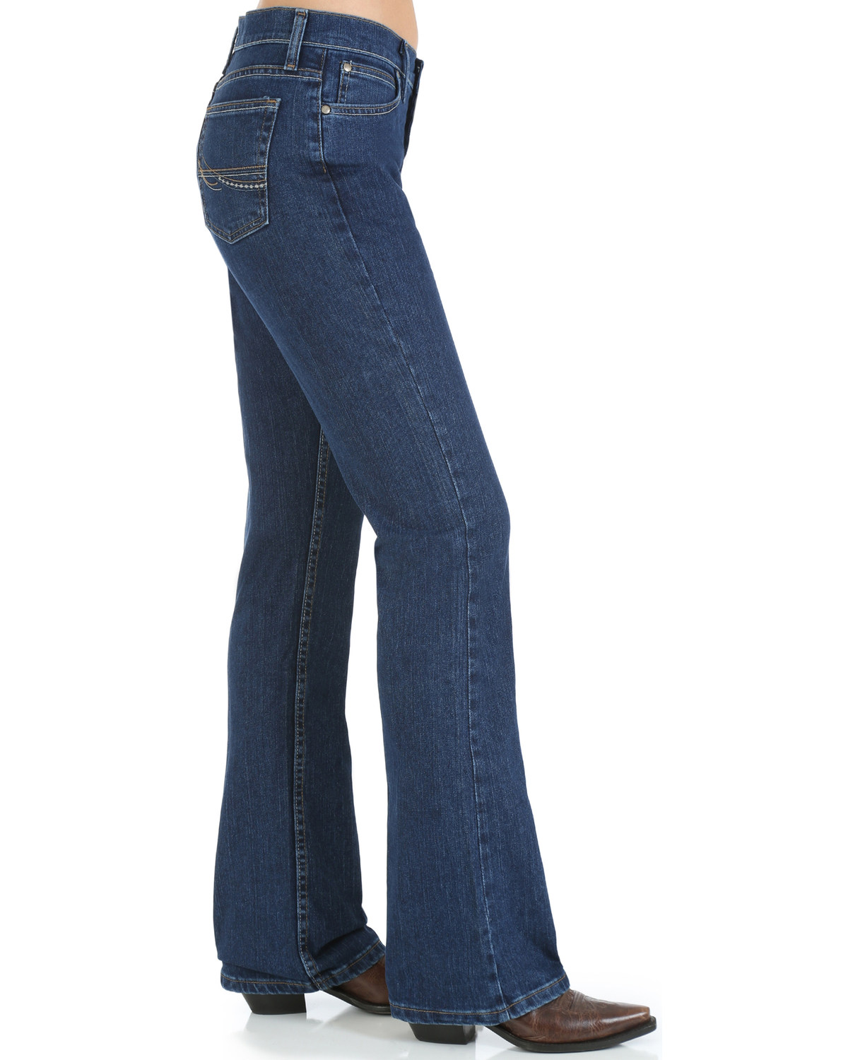 As Real As Wrangler Women S Classic Fit Boot Cut Jeans