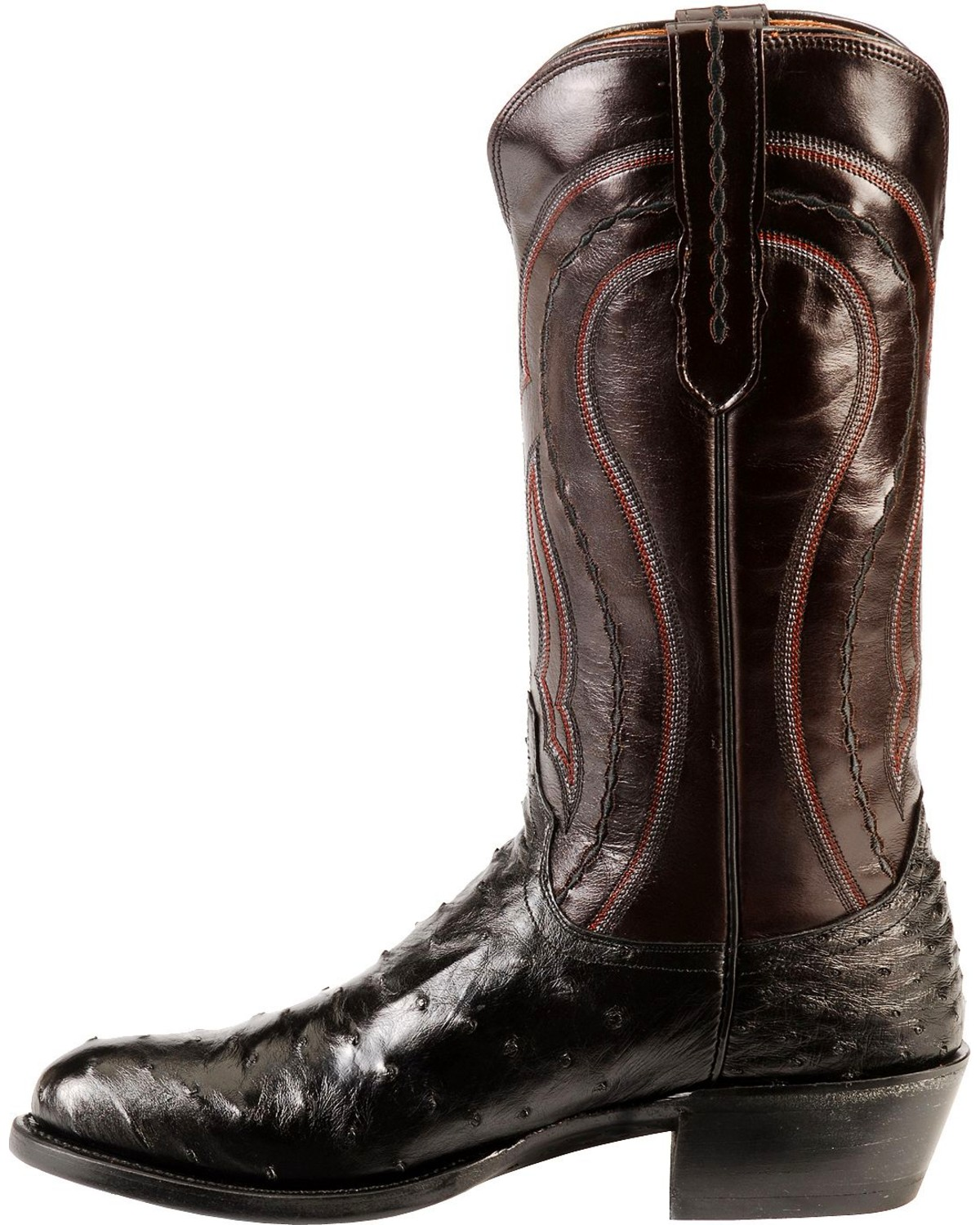 Lucchese Men S Montana Full Quill Ostrich Western Boots