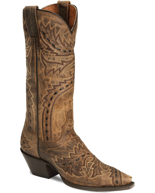 Dan Post Sidewinder Mad Cat Cowgirl Boot   Snip