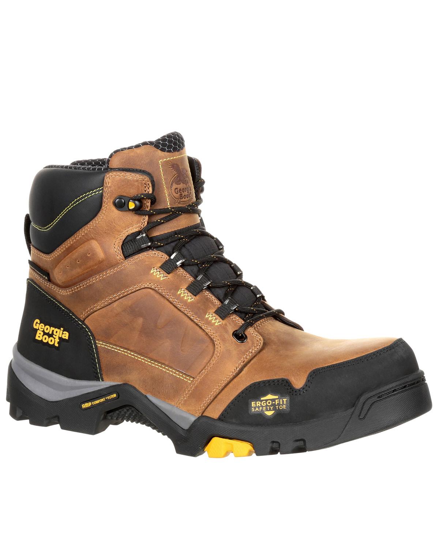 f8f88b68981 Georgia Boot Men's Amplitude Waterproof Work Boots - Composite Toe