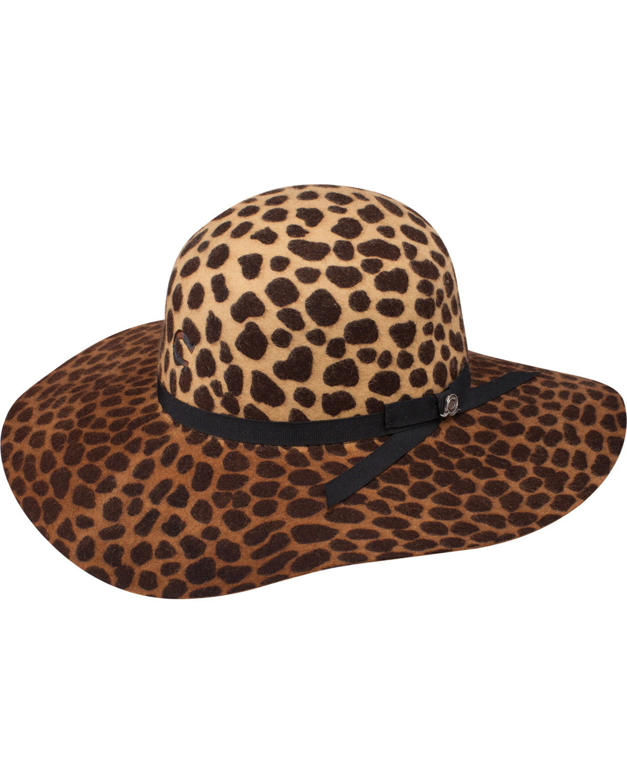 5b0289455a7a4 Charlie 1 Horse Women s Jezebel Cheetah Print Felt Hat