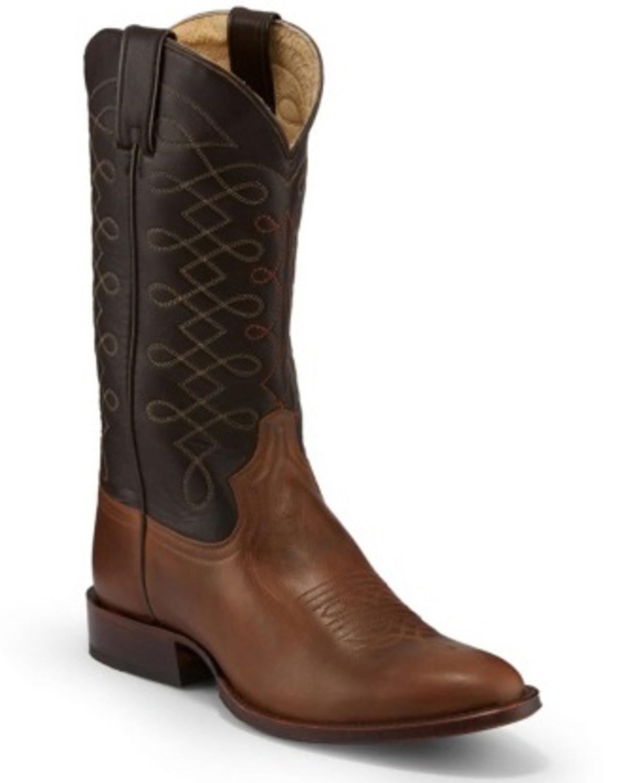 0467b7a99d7 Tony Lama Men's Patron Fossil Western Boots - Round Toe