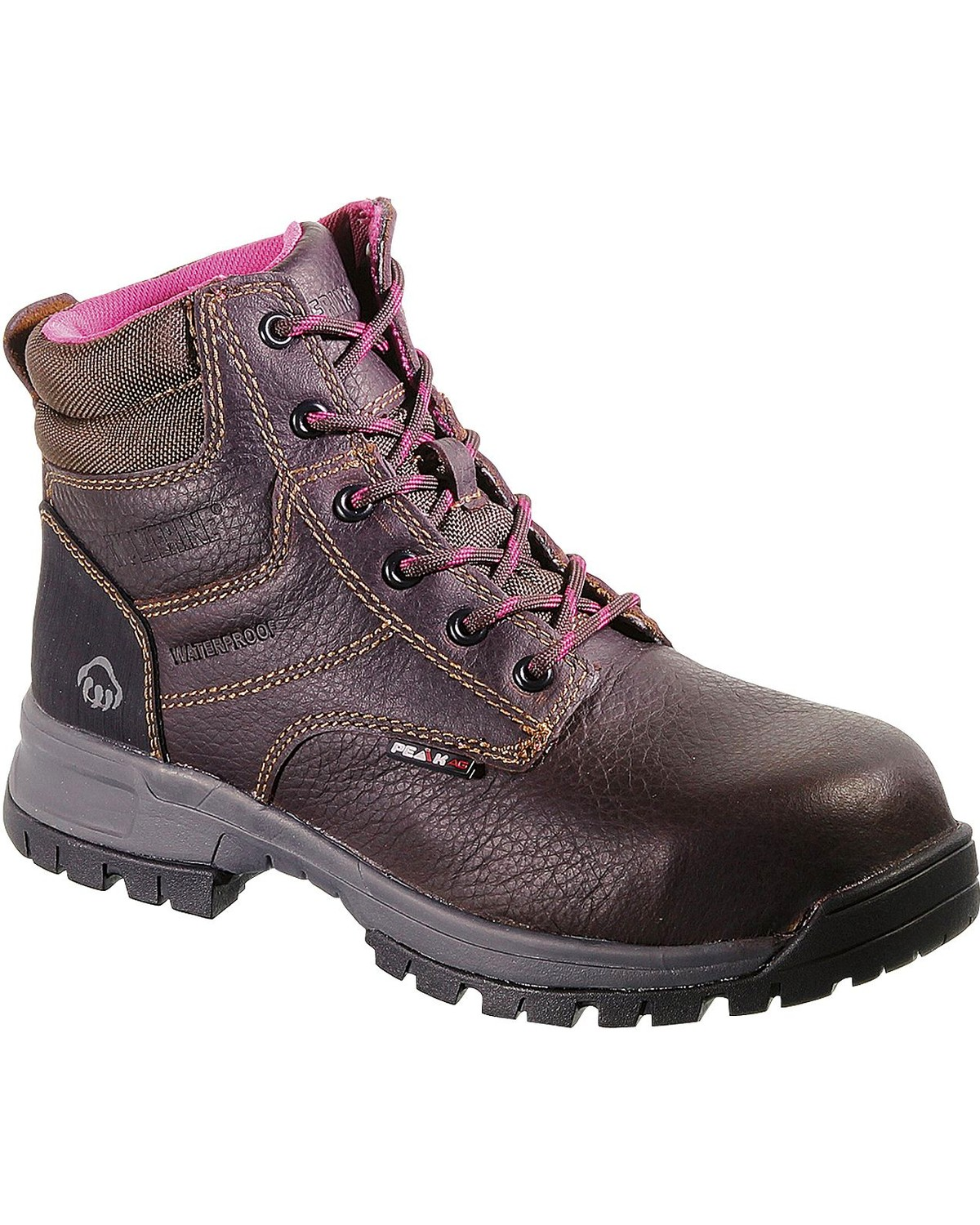 5df24fb4a48 Wolverine Women's Piper Waterproof Composite Toe Work Boots