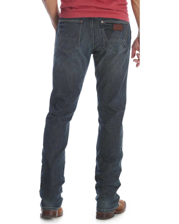 3ac7175d Zoomed Image Wrangler Retro Men's Jerome Slim Fit Jeans - Straight Leg ,  Indigo, ...