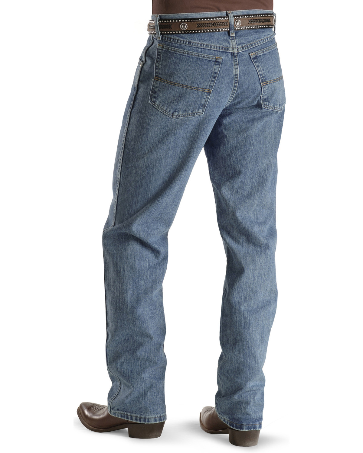 3eeaa4c3 Zoomed Image Wrangler 20X Jeans - No. 23 Relaxed Fit, Antique Blue, hi-res