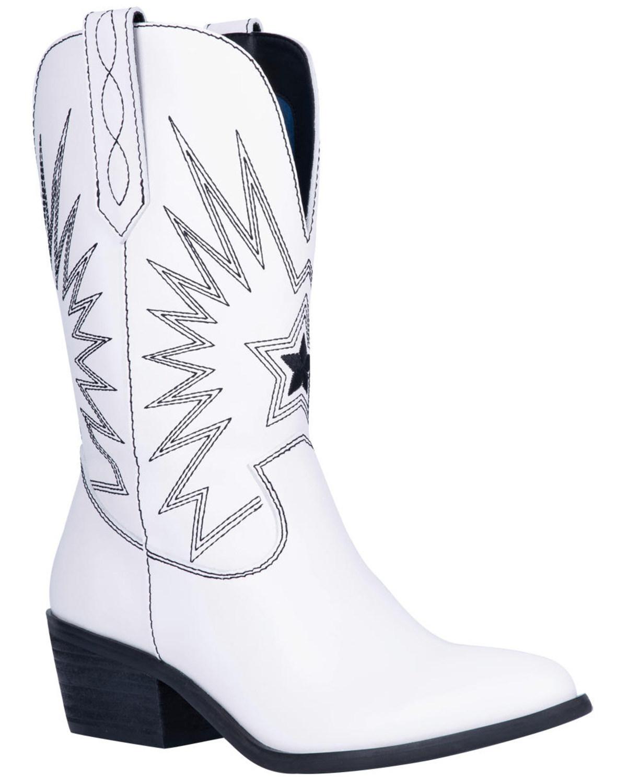 Dingo Women's White Rockstar Western