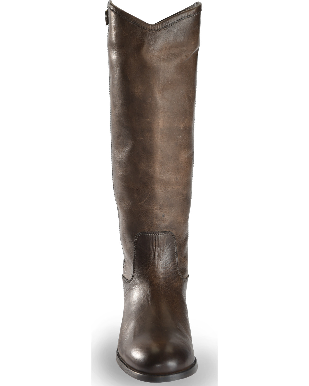 da0f361de3f Frye Women s Slate Melissa Button 2 Tall Boots - Round Toe