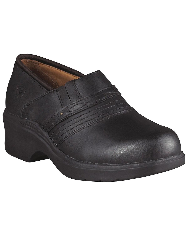 Ariat Black Clogs - Steel Toe | Boot Barn