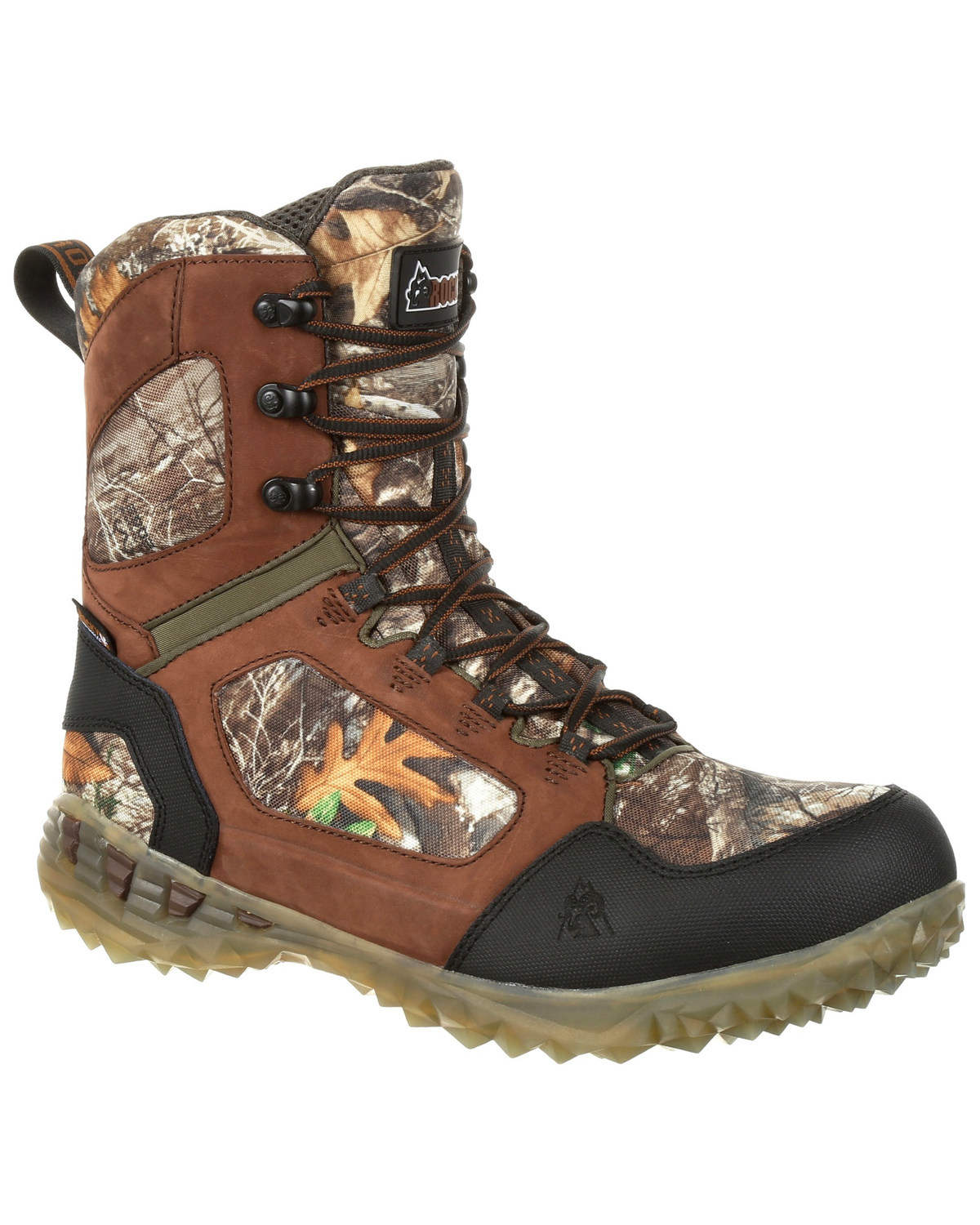 6dbf203f679 Rocky Men's Broadhead EX Insulated Waterproof Outdoor Boots - Round Toe