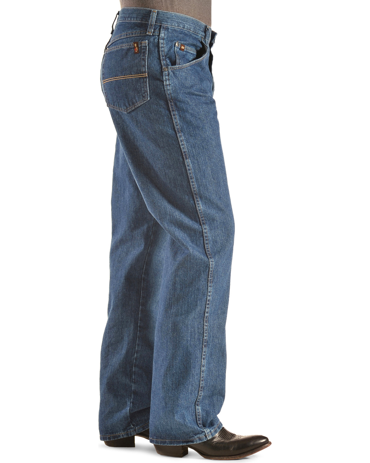 14b13d5a Wrangler 20X Men's No. 23 Relaxed Fit Jeans - Straight Leg , Indigo, hi