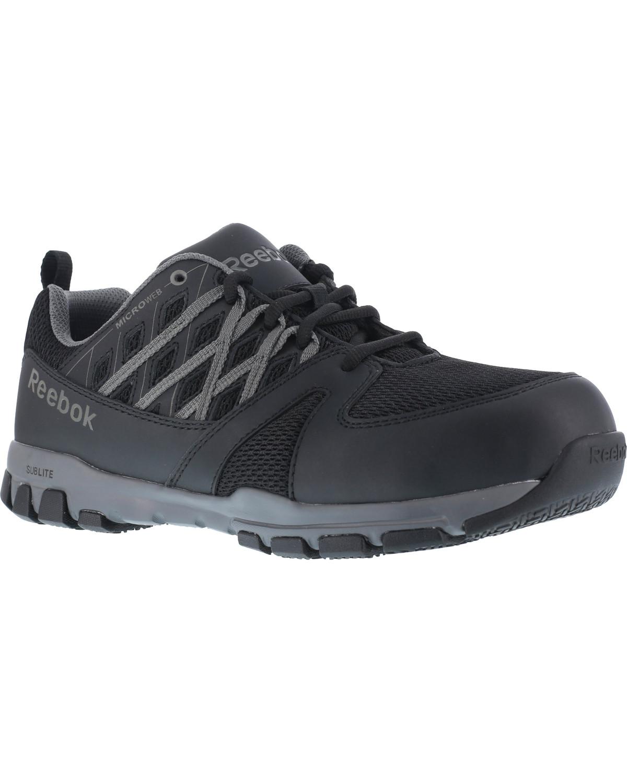 6355838648f Reebok Women s Sublite Athletic Oxford Work Shoes - Steel Toe