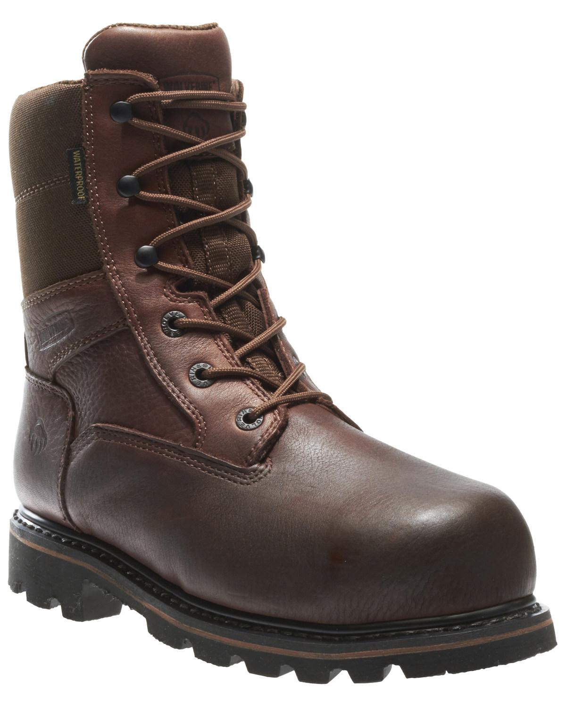 3ea068bb935 Wolverine Men's Novack Waterproof Composite Toe Work Boots
