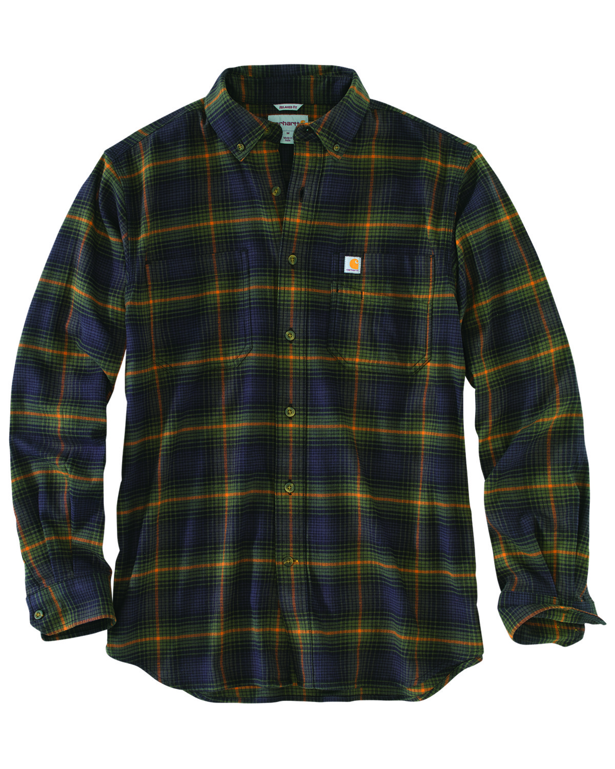 low price great quality outlet online Carhartt Men's Rugged Flex Hamilton Plaid Long Sleeve Work Shirt