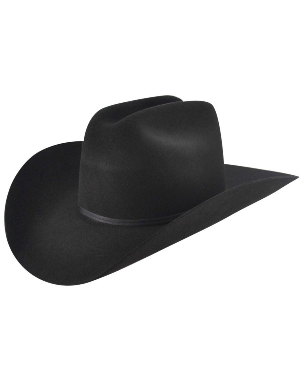 Bailey Western Stampede Cattleman Crown Cowboy Hat  f353a41b24f