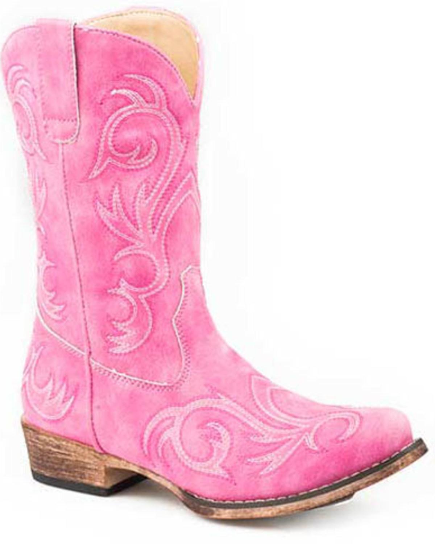 girls boots pink