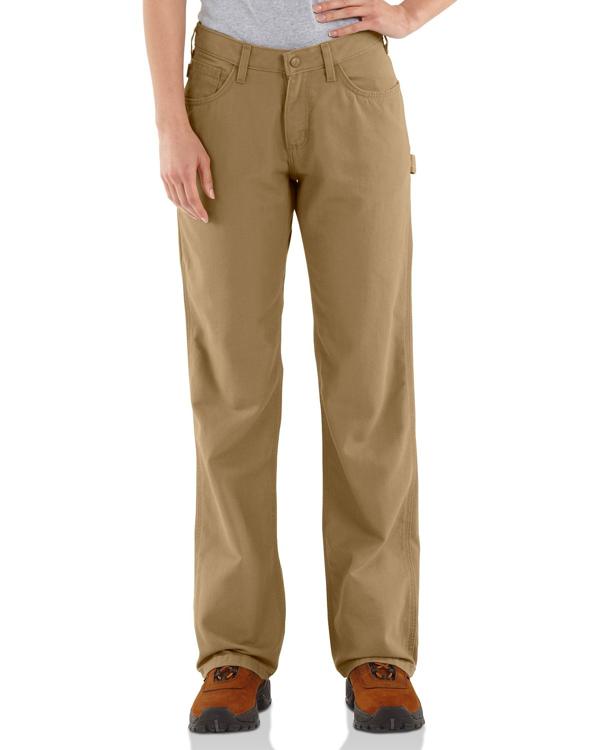 Carhartt Flame Resistant Canvas Work Pants - 28