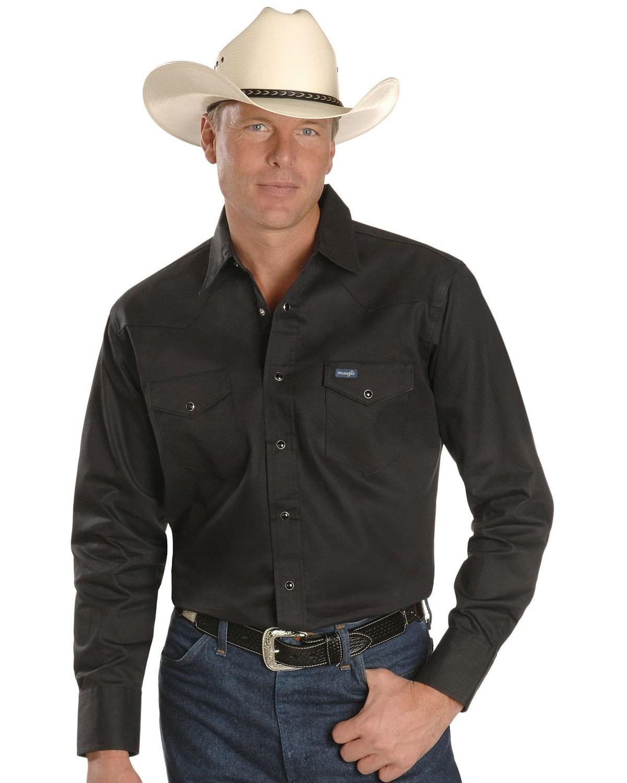 Wrangler Men S Cowboy Cut Work Western Shirts Boot Barn