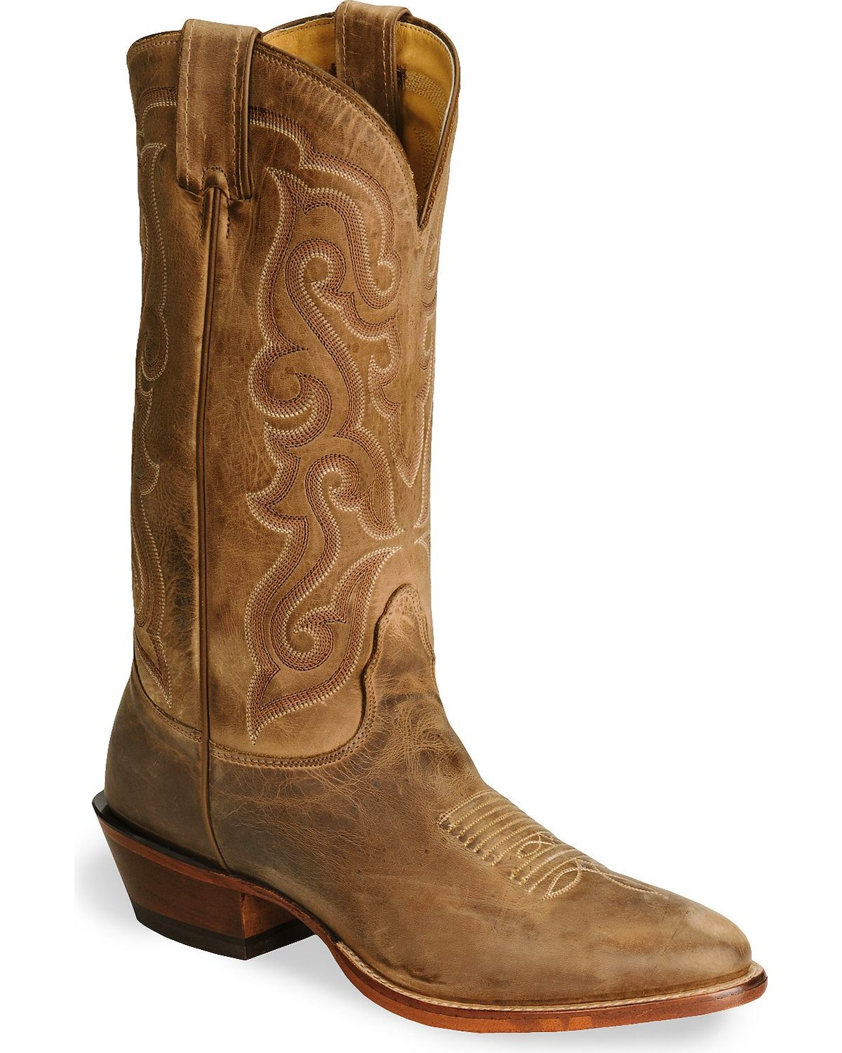 b01e4acc9e6 Nocona Men's Vintage Leather Western Boots