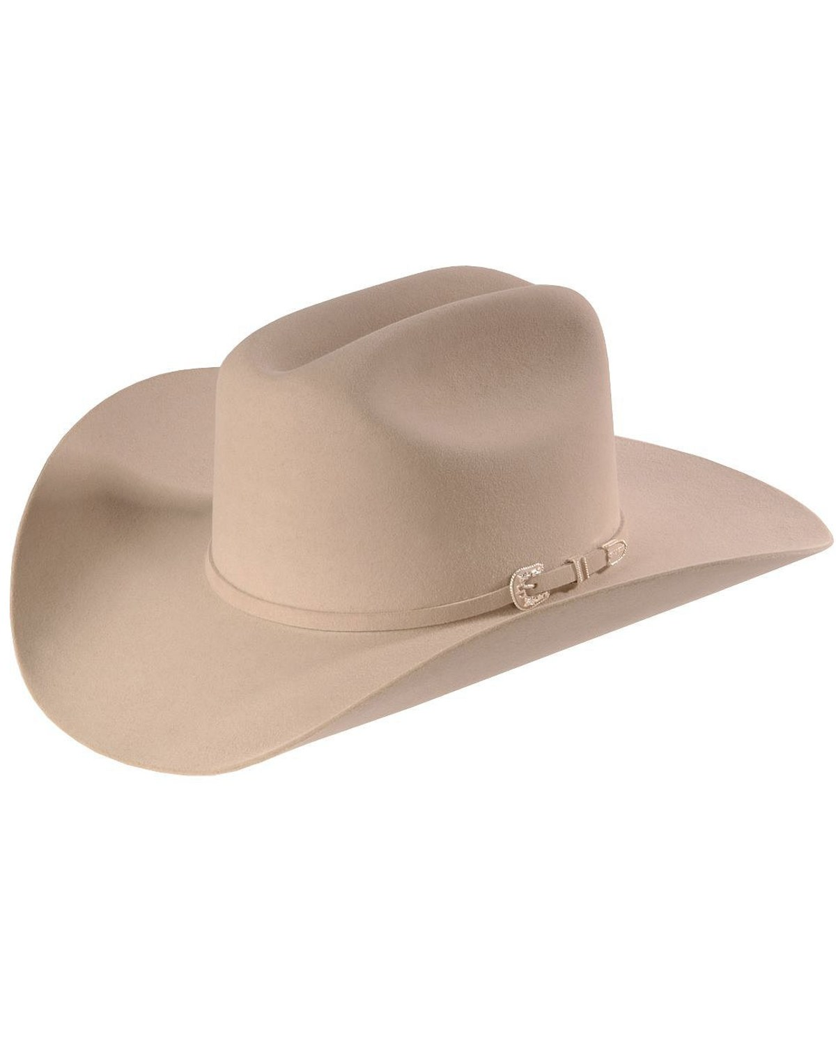 5f46e76097323b Zoomed Image Stetson 6X Skyline Fur Felt Western Hat, Silverbelly, hi-res