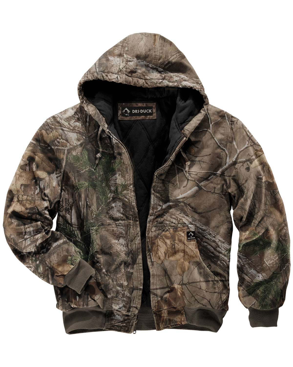 1550bdbb07718 Dri Duck Men s Cheyenne Realtree Xtra Camo Hooded Work Jacket