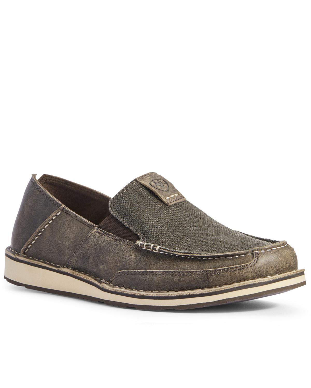 Ariat Men's Grey Noir Cruiser Shoes
