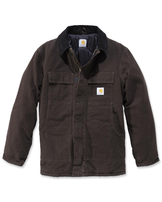 Cena fabryczna nowy styl niska cena sprzedaży Carhartt Men's Sandstone Traditional Arctic Quilt Lined Coat
