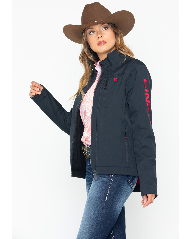 Cinch Women S Western Softshell Jacket Boot Barn