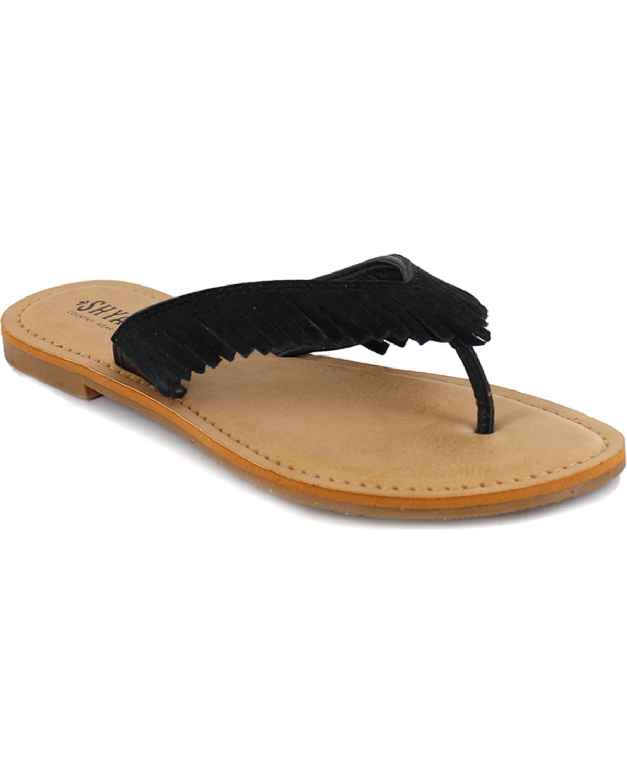 c948beea9cf2ad Shyanne® Women s Suede Fringe Sandals