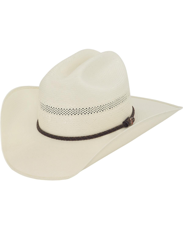 Justin 50X Travis Straw Cowboy Hat  a3f5c3e21f5