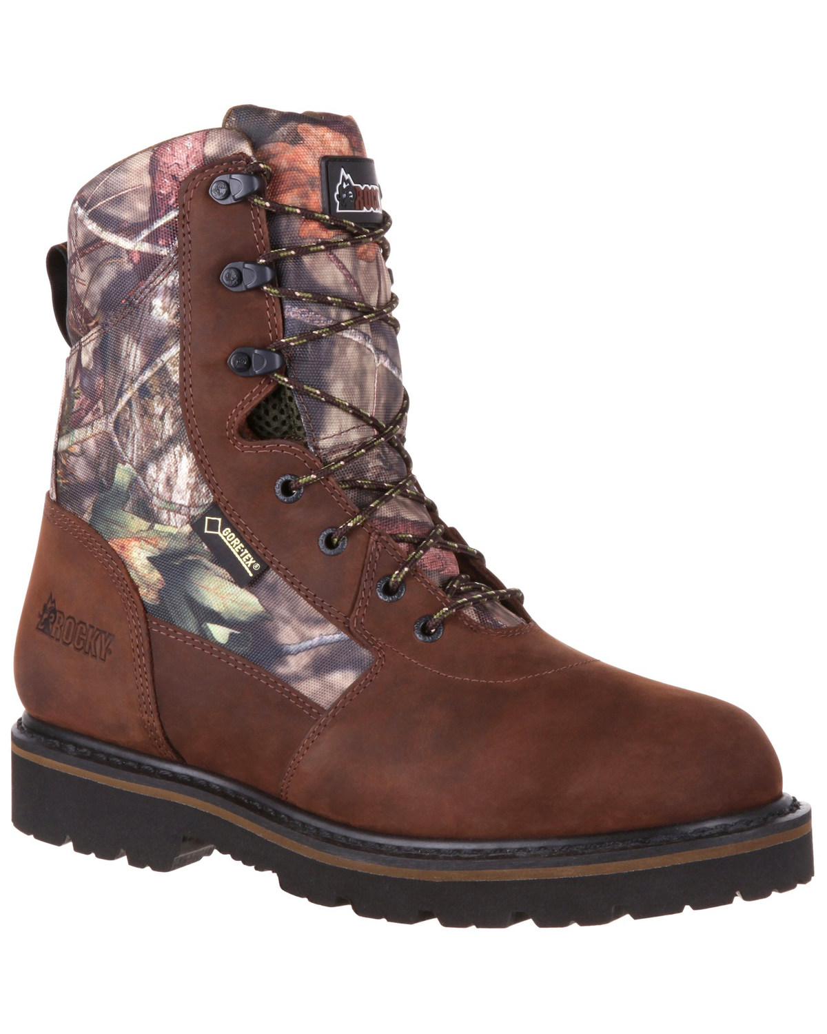 c11abc13f07 Rocky Men's Stalker Waterproof Hunting Boots - Round Toe