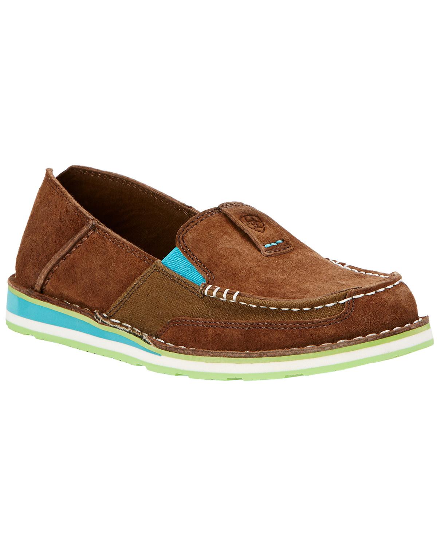 ariat leopard print shoes