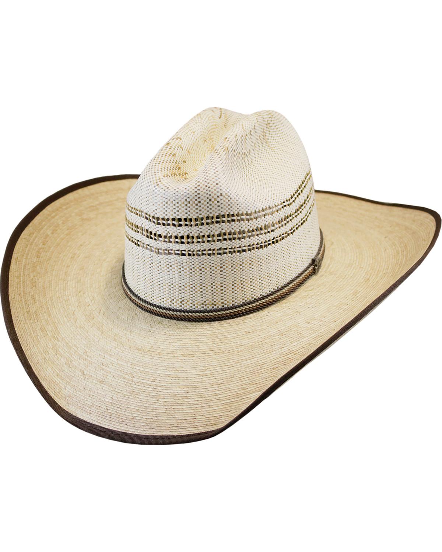 ab078071663 Justin Men S Natural Rawlins Palm Leaf Cowboy Hat Boot Barn
