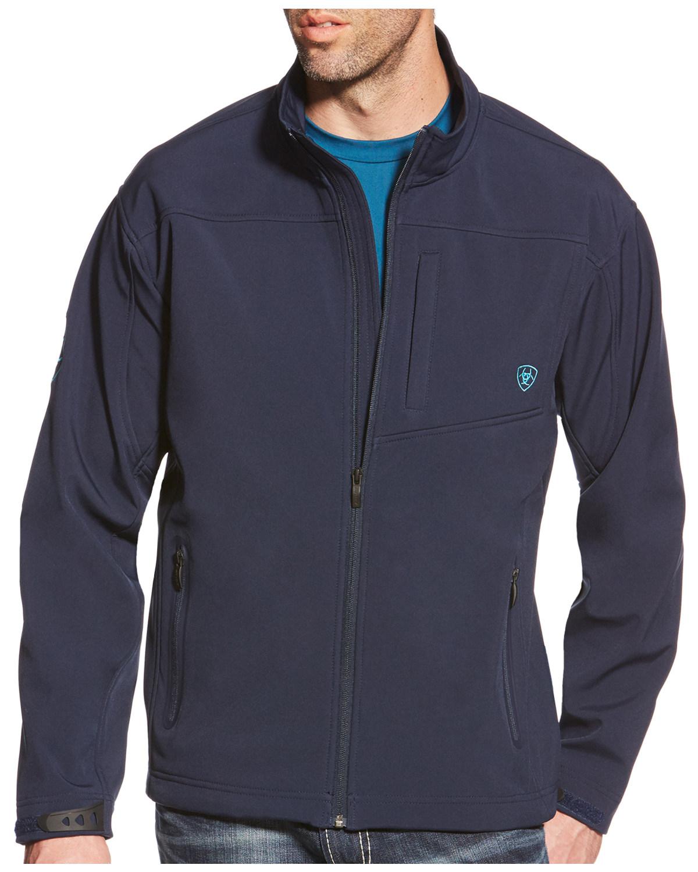 3a801c88086 Ariat Men s Team Logo Softshell Jacket