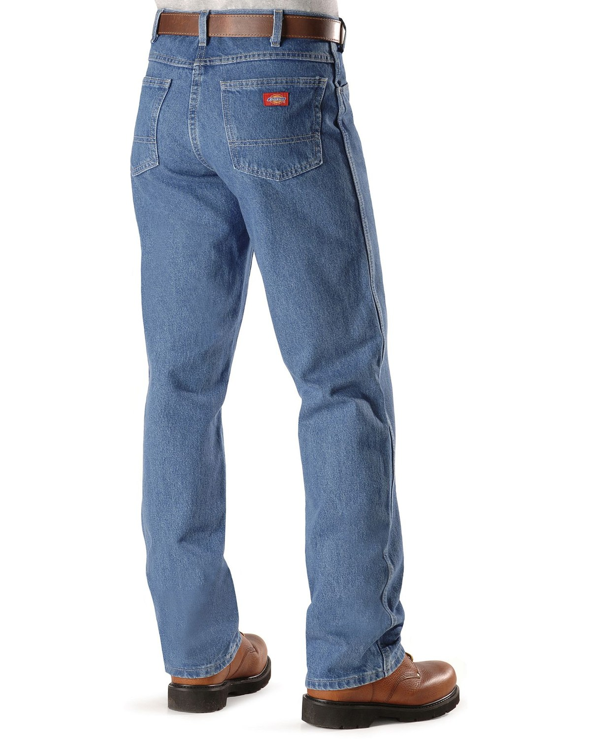d51999f7 Zoomed Image Dickies Work Jeans - Regular Fit, Stonewash, hi-res. Zoomed  Image ...