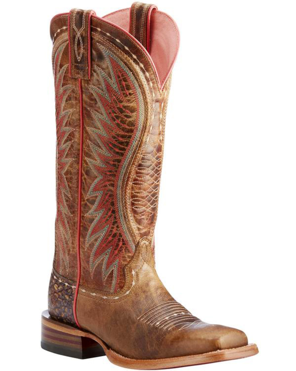 14a2bf8d7141 Ariat Women s Wheat Vaquera Dusted Boots - Square Toe