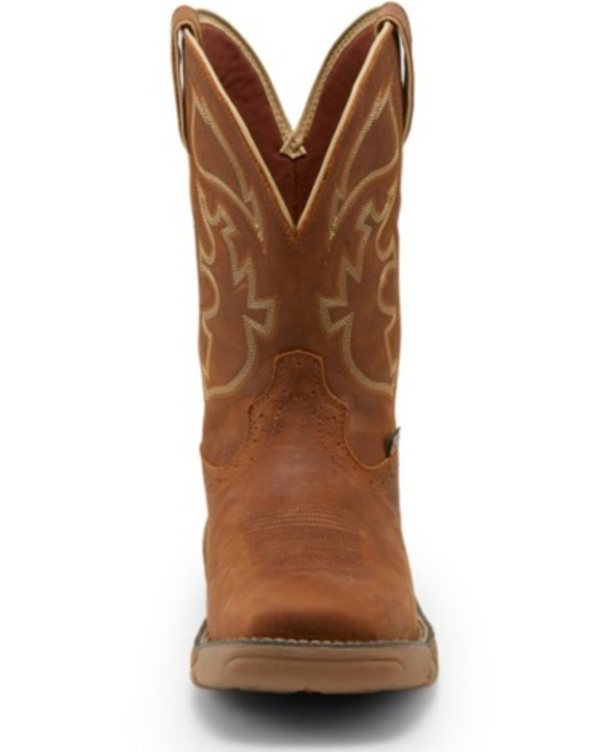 Justin Men S Stampede Rush Western Work Boots Soft Toe